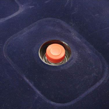 Colchão inflável com inflador Solteiro Zenite NTK para Camping