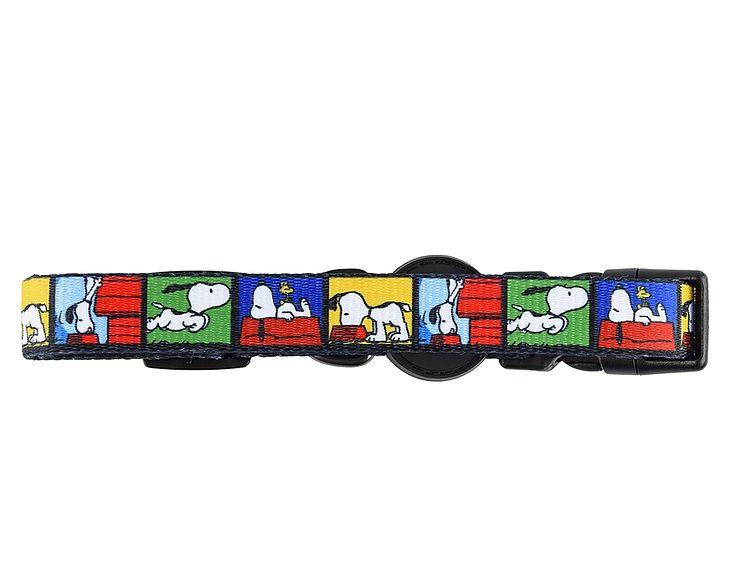 Coleira para Cachorro Snoopy Quadrinho FilmColor Colorida Zooz Pet