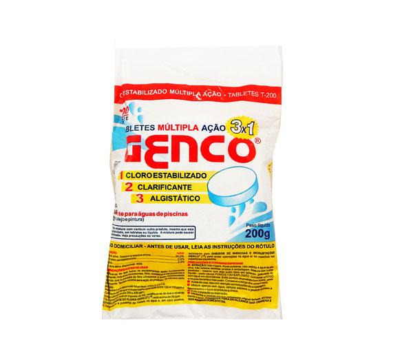 Combo 20 Tabletes de cloro para piscina T-200 + 10 Tabletes de cloro 3 Em 1 Genco