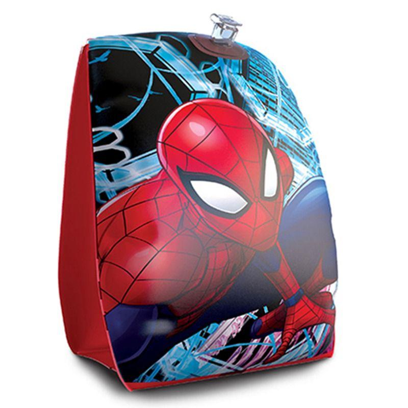 Combo 2 pares de Boia de Braço inflável para crianças Marvel Homem Aranha Spider Man
