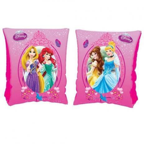 Combo 2 pares de Boia de Braço inflável para crianças Princesas Disney
