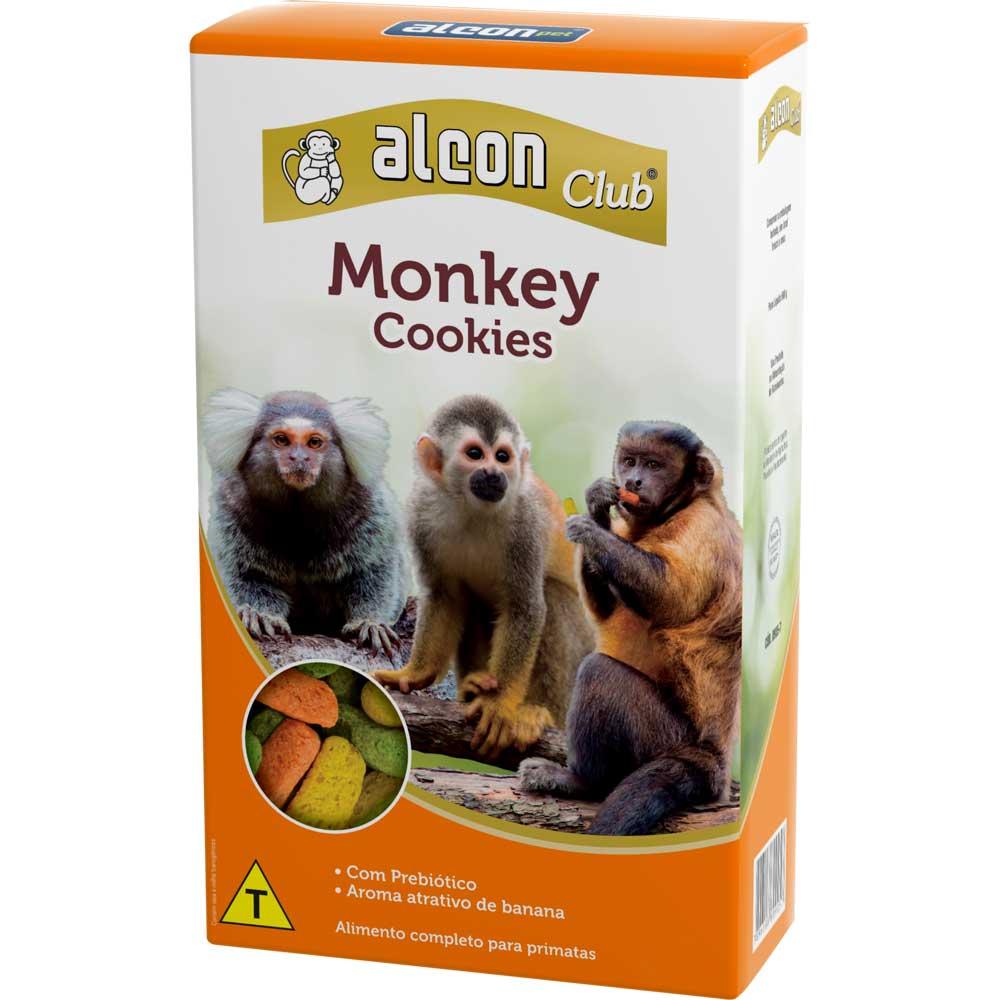 Combo 3 unidades Ração Comida Para Macaco Alimento para primatas Alcon Monkey Cookies