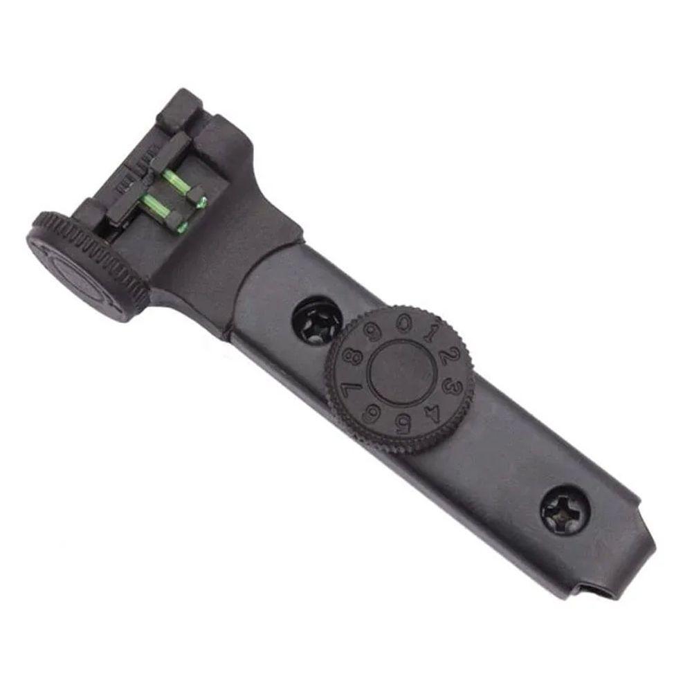Combo 6 Conjunto Alça de Mira CBC + Massa de mira CBC para carabina Espingarda de pressão B12 B15 B19
