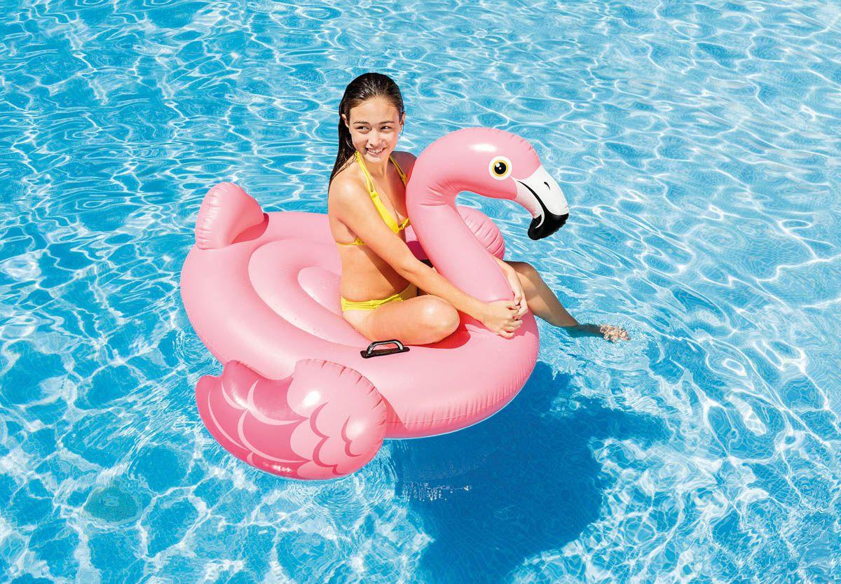 Combo Boias Infláveis Divertidas para piscina: Unicórnio. Cisne Branco. Flamingo Rosa. Boias Instagram Blogueiras Famosas