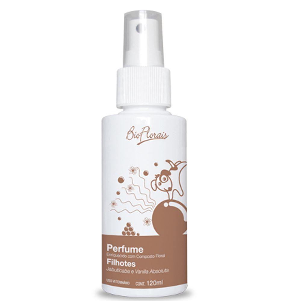 Combo Kit banho para cachorro Filhotes com tratamento Florais BioFlorais: Shampoo condicionador e perfume para cães filhotes