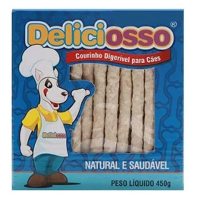 Combo Petisco Palitinho Ossinho Para Cães Deliciosso Palito Natural Medio - 6 Caixas 450g