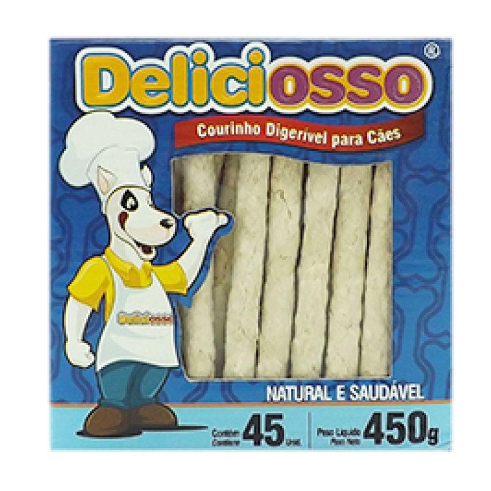 Combo Petisco Palitinho Ossinho Para Cães Deliciosso Palito Natural Medio - 12 Caixas 450g