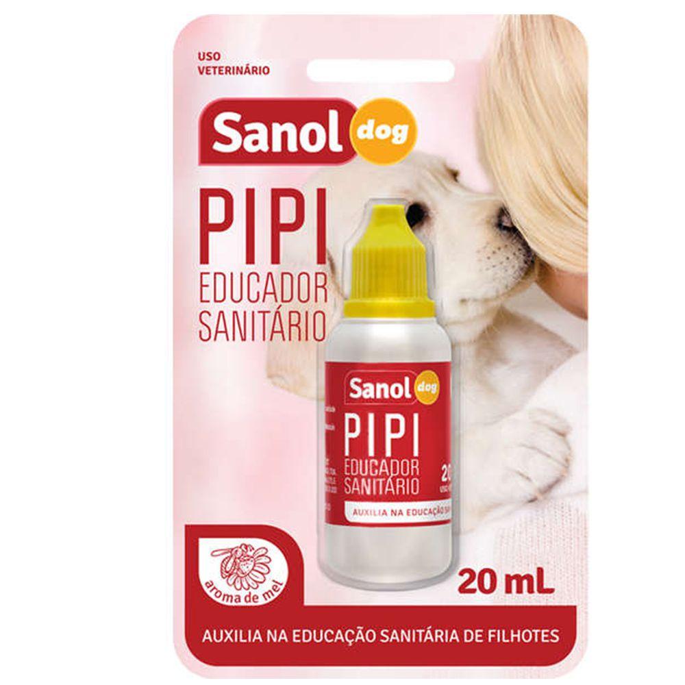 Combo Tapete higiênico para cachorro tipo fralda e atrativo Cães Xixi Sim (Xixi Pode) Sanol