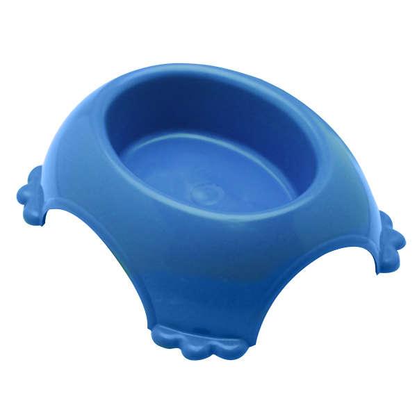 Comedouro para Cachorro Modelo Tartaruga simples Plástico Furacão Pet 490ml