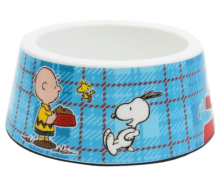 Comedouro para Cachorro ou Gato Snoopy Modelo Charlie Brown Zooz Pet