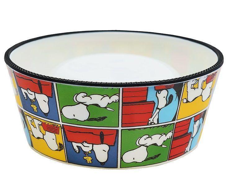 Comedouro para Cachorro ou Gato Snoopy Modelo Quadrinho Zooz Pet