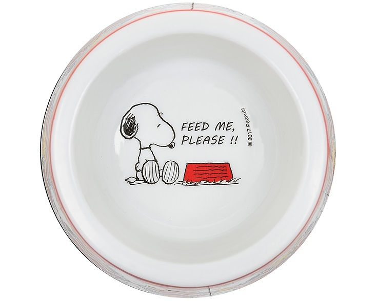 Comedouro para Cachorro ou Gato Snoopy Modelo ZigZag Zooz Pet