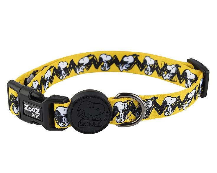 Conjunto Guia e Coleira para Cachorro Snoopy Charlie Brown Zooz Pet