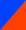Azul e Laranja