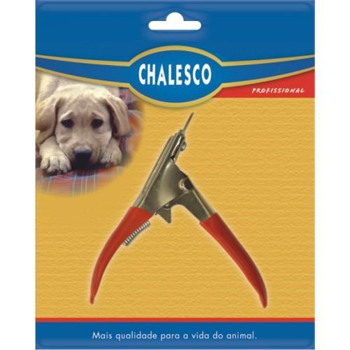 Cortador de unha cachorro e gato modelo guilhotina Chalesco - cabo emborrachado, corte preciso