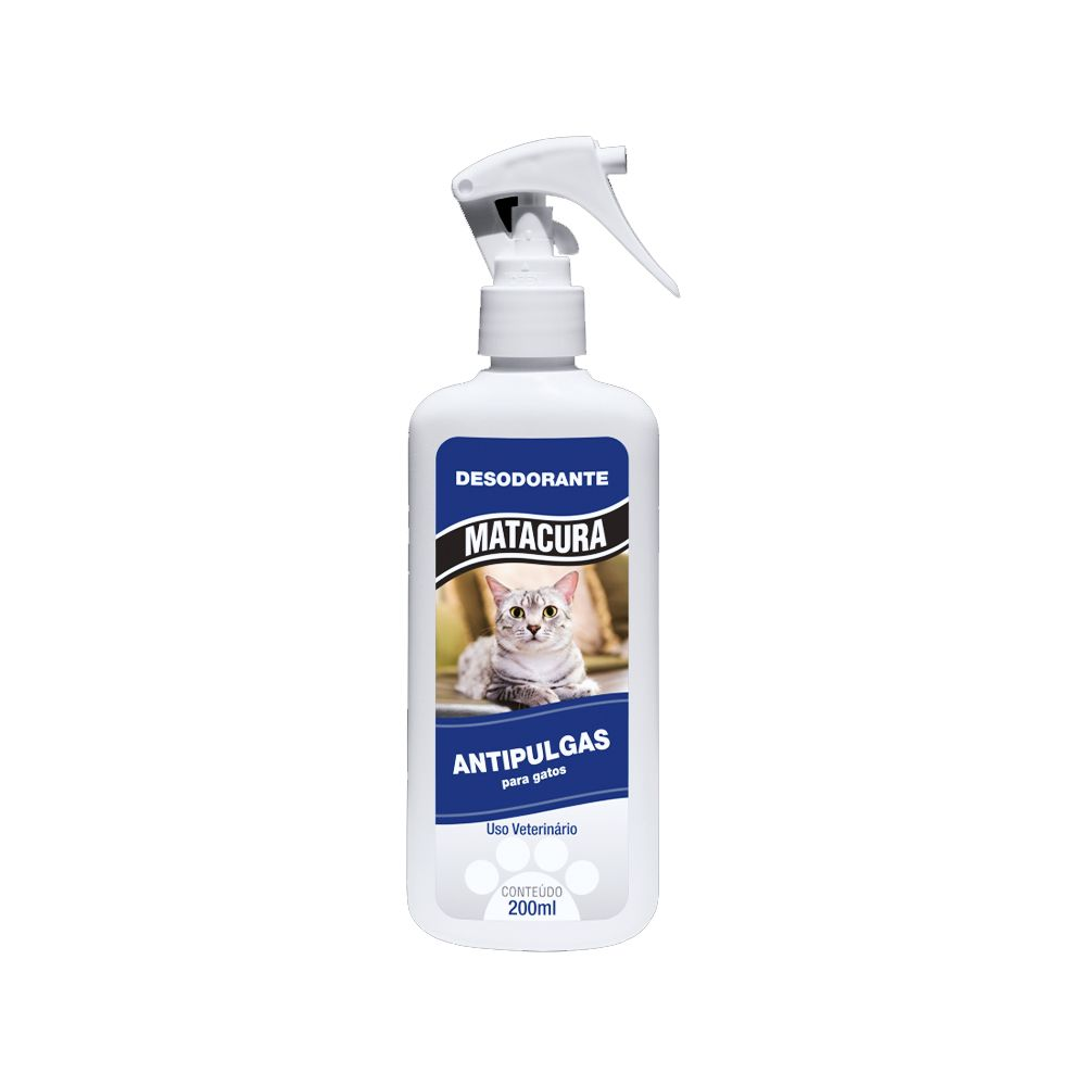 Desodorante anti pulgas para gatos Matacura 200ml