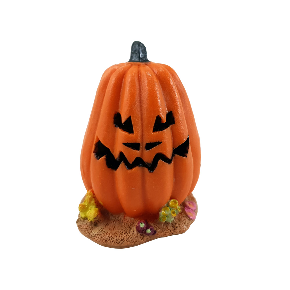 Enfeite para Aquário Abóbora Halloween Vigoar