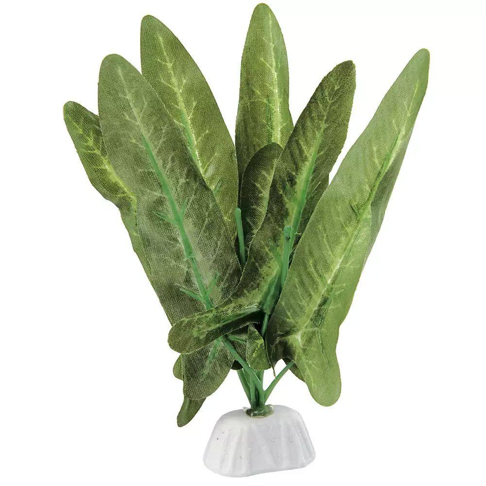 Enfeite para aquário planta de seda Verde 21cm VigoAr
