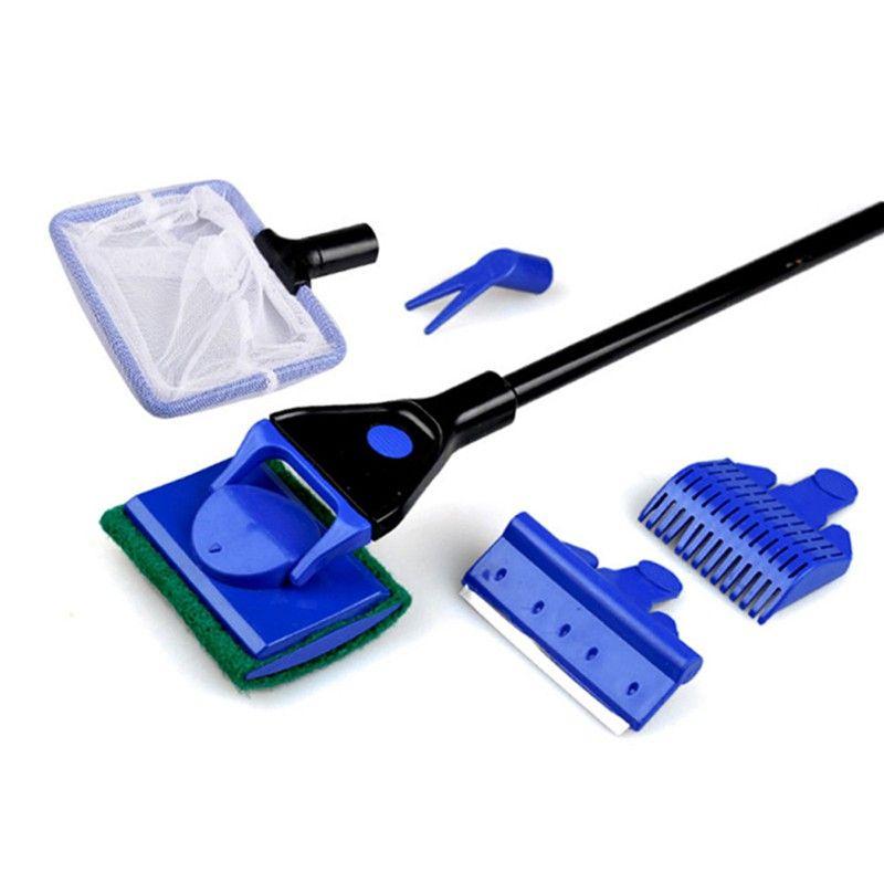 Kit de Ferramentas para Limpeza para aquários (5 em 1) Batiki Fish