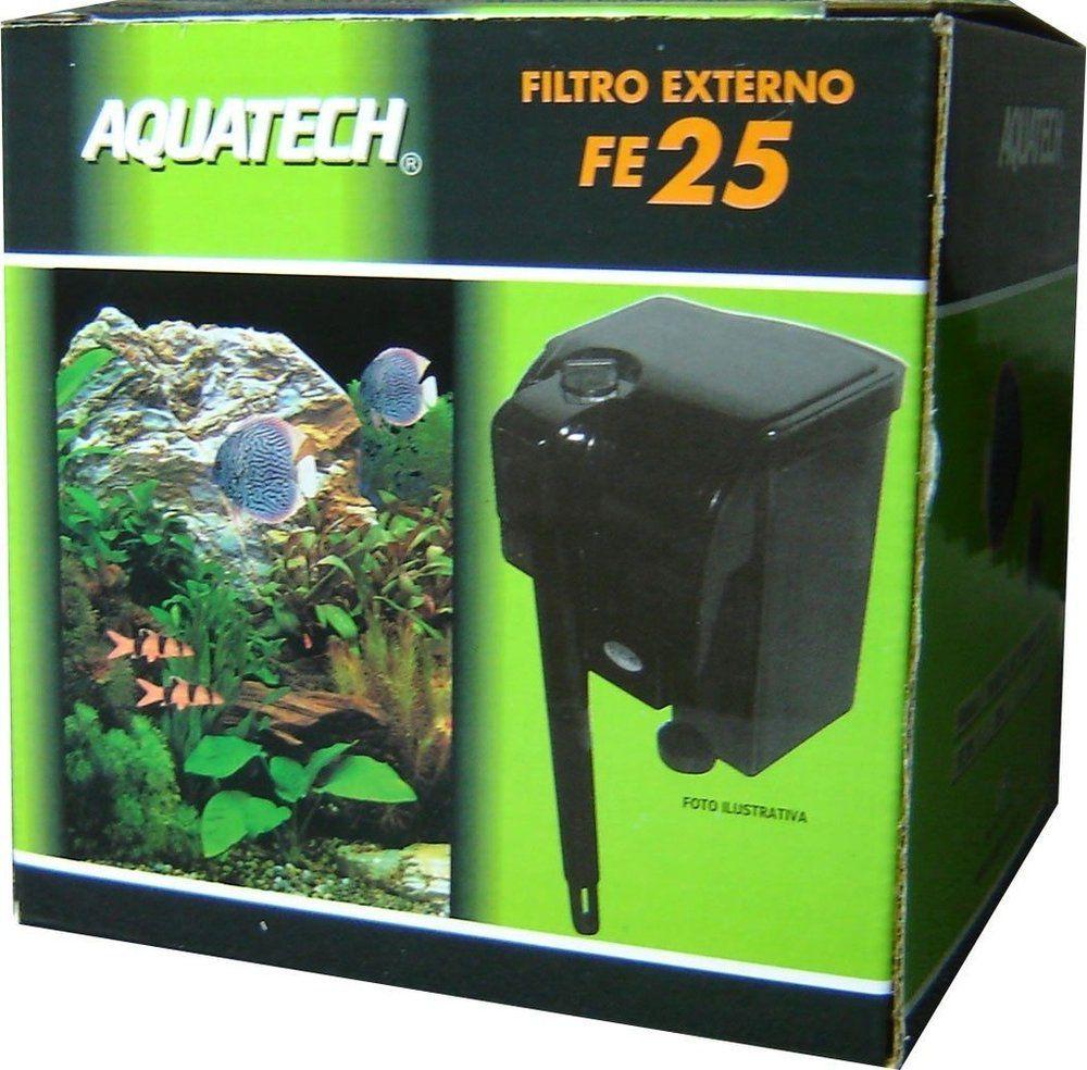 Filtro Externo para Aquários Modelo FE 25 Aquatech - Vigo Ar-  aquários de até 60 L - Vazão 250 L/h 220V