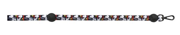 Guia com mosquetão para Cachorro Snoopy Film Black - Quadrinhos Snoopy preto e branco P/M 1,20m Zooz Pet