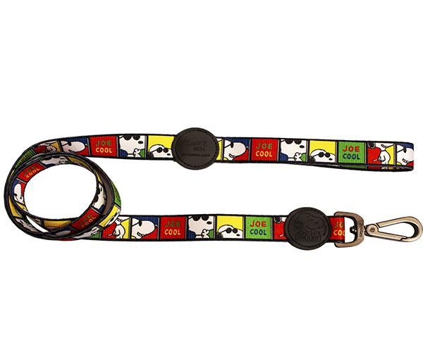 Guia para Cachorro Snoopy Joe Cool Guia com mosquetão 1,20m G Zooz Pets 315kg resistência