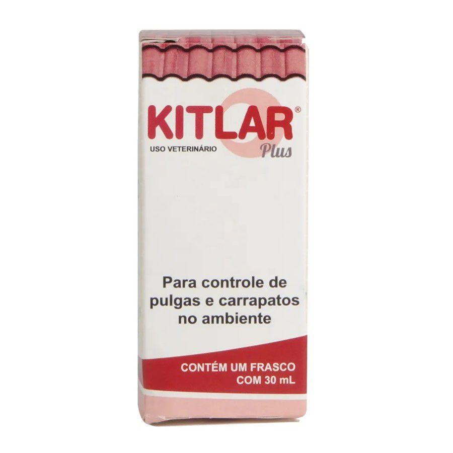 Inseticida Kitlar Plus para Controle de Pulgas e Carrapatos em Ambiente - Controle de pulgas Carrapatos em ambientes
