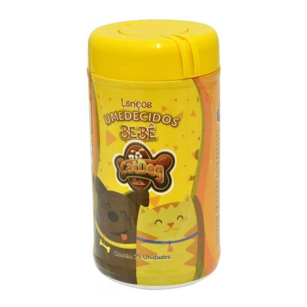Kit Banho Cachorros Filhotes: Shampoo para Cães Filhotes + Perfume Colônia Baby + Condicionador Neutro + Lenço Umedecido