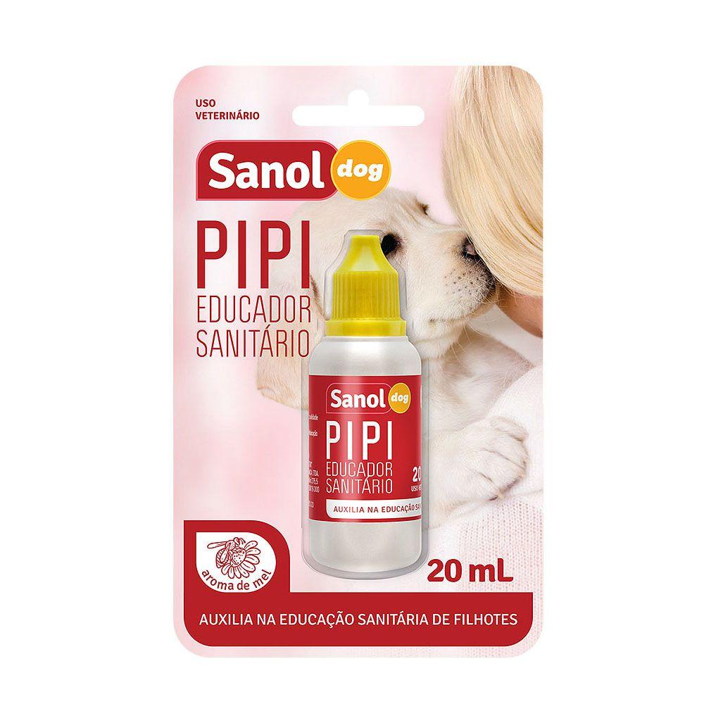 Kit com 4 Educador Sanitário Pipi Dog Pode Sanol ( Atrativo Xixi Sim ) 20ml