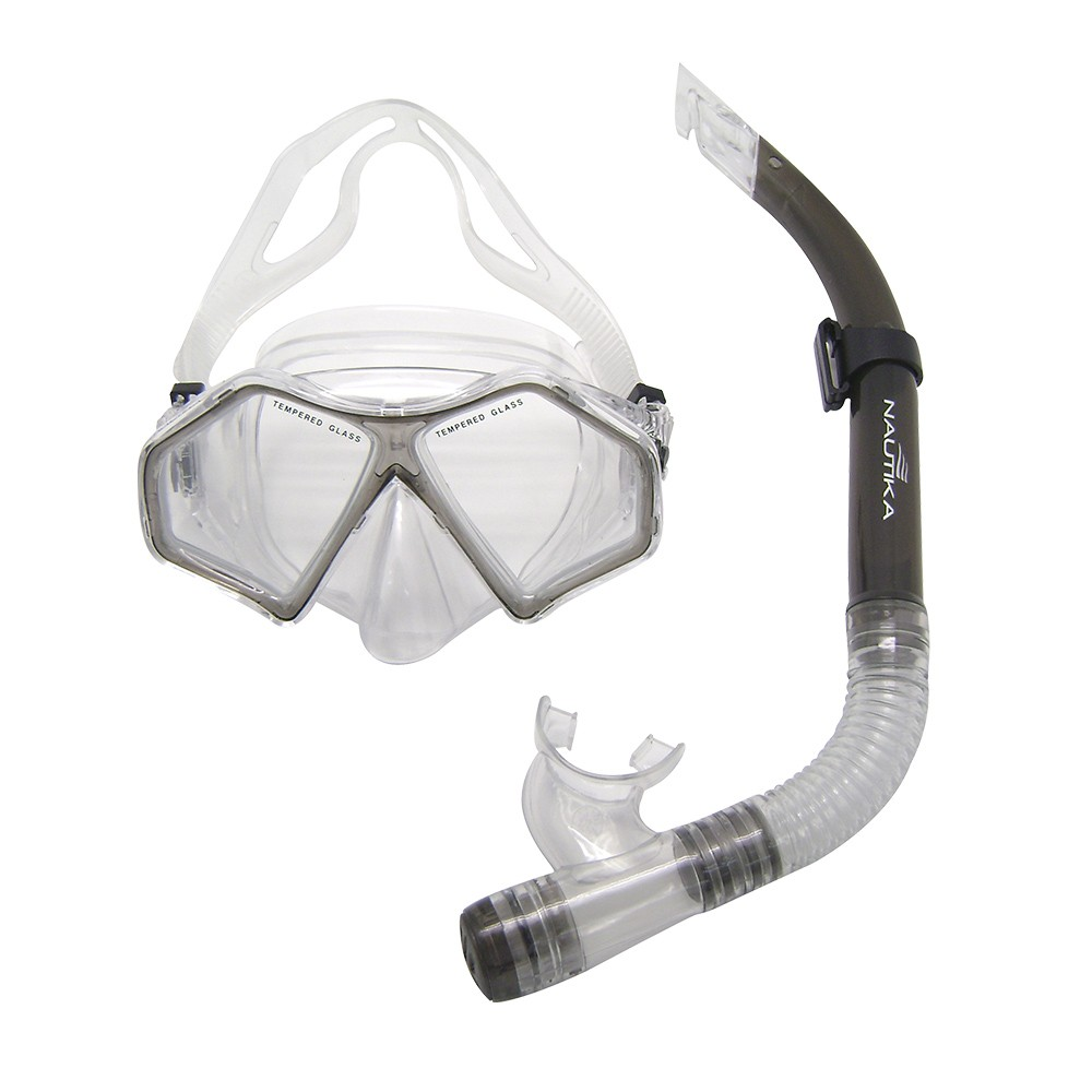 Kit Máscara + Respirador Spider Preto NTK