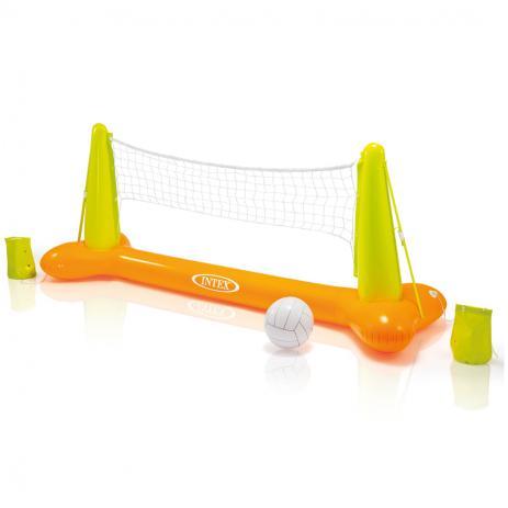 Kit para Volei Inflável com bola e rede para Piscina Intex