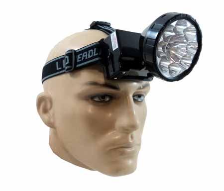Lanterna de cabeça Eco-Lux LED KM-162