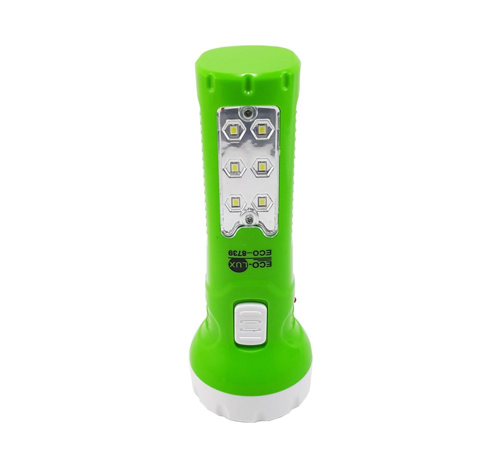 Lanterna Recarregável 6+6 Led Eco-Lux Eco-8739