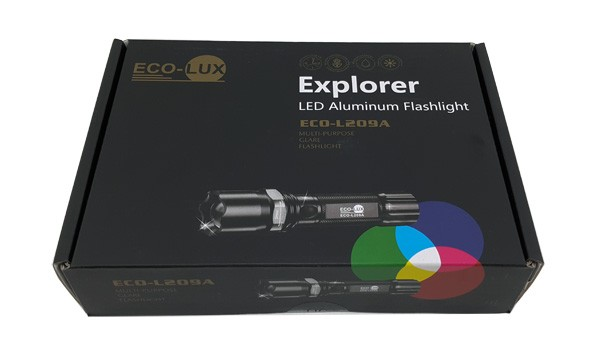 Lanterna tática LED Explorer Eco-L209A