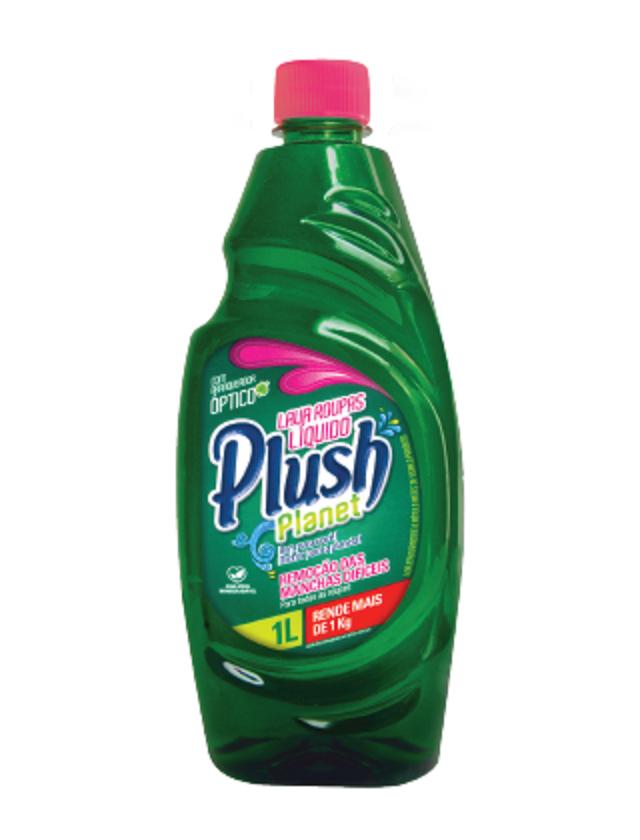Lava Roupas Sabão Detergente Liquido para limpeza profunda de roupas Plush Planet 1 Litro