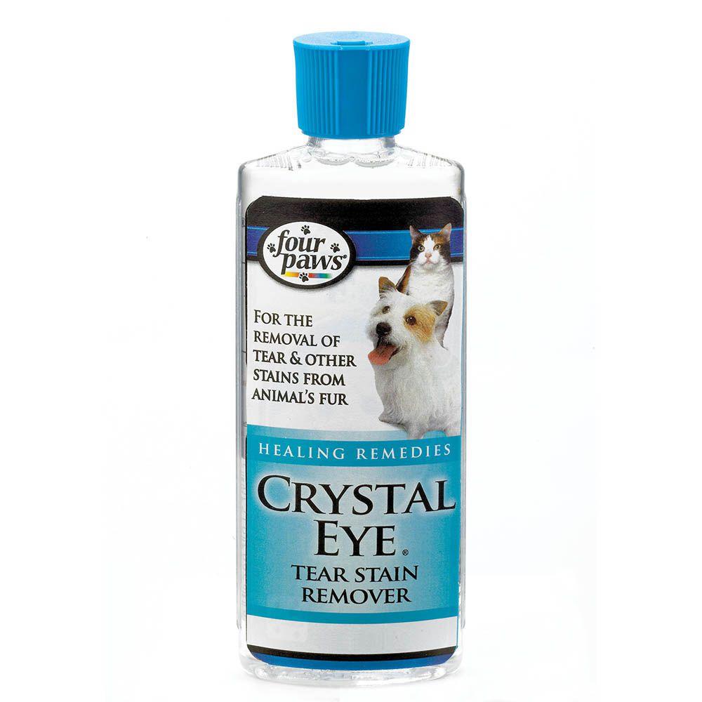 Limpa Lágrimas de cães e gatos Ameniza manchas de lágrimas no pet. Clareador de manchas ao redos dos olhos. Chalesco Crystal Eye