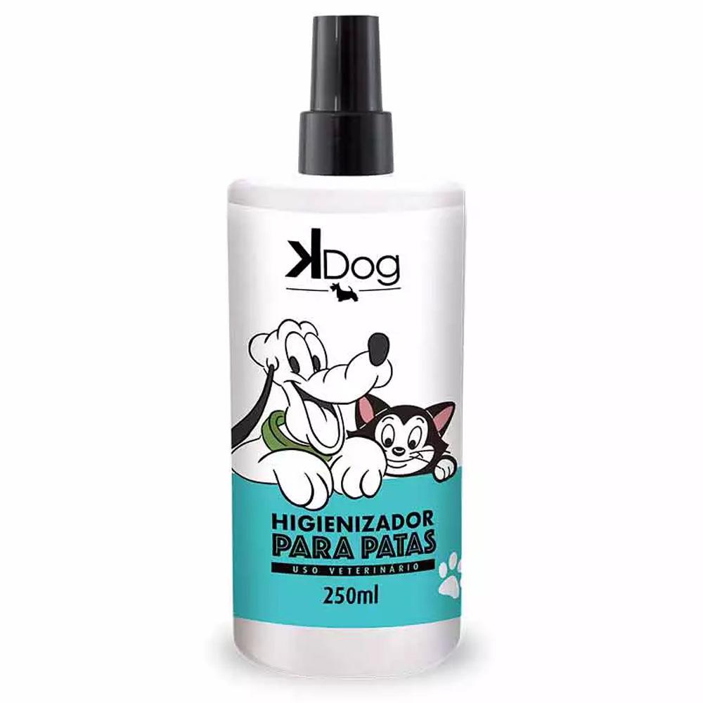 Limpador Higienizador de Patas cachorro e gato Disney Kdog - Spray Higieniza patas dos animais