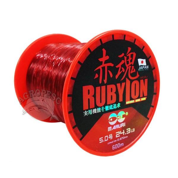 Linha Maruri Rubylon 0,52mm - 600 Metros