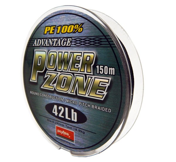 Linha Multifilamento Power Zone 0,24mm 42Lb - 150m