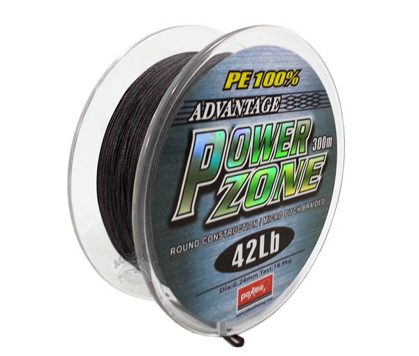 Linha Multifilamento Power Zone 0,24mm 42Lb - 300m