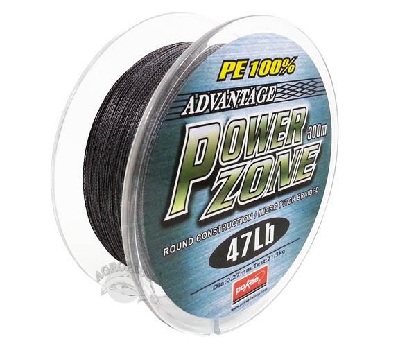 Linha Multifilamento Power Zone 0,27mm 47Lb - 300m
