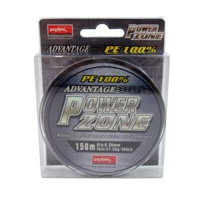 Linha Multifilamento Power Zone 0,38mm 104lb 150 Mts