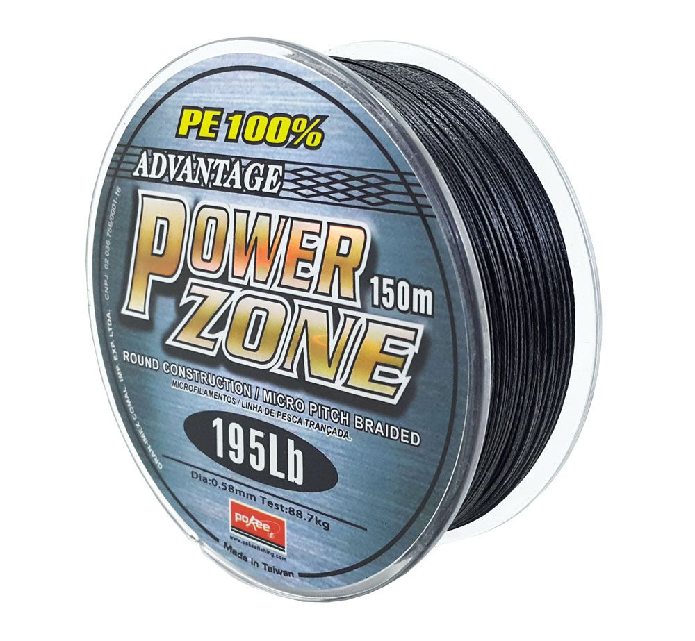 Linha Multifilamento Power Zone 0,58mm 195Lb 150m