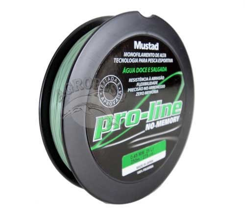Linha Mustad Pro-Line 0,30mm - Verde