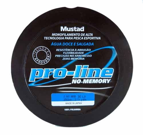 Linha Mustad Pro-Line 0,50mm