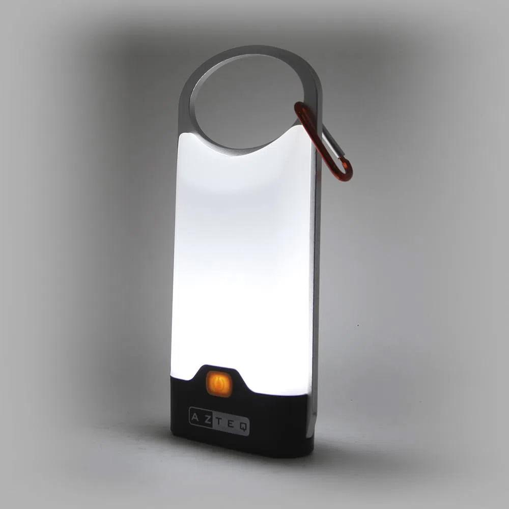Luminária de camping com mosquetão 300 Lumens Glow Azteq