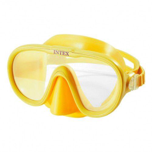 Máscara para mergulho e Natação Aquaflow Play Aqua Marinha - Máscara Sea Scan Swim Intex 55916 Amarelo