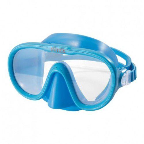 Máscara para mergulho e Natação Aquaflow Play Aqua Marinha - Máscara Sea Scan Swim Intex 55916 Azul