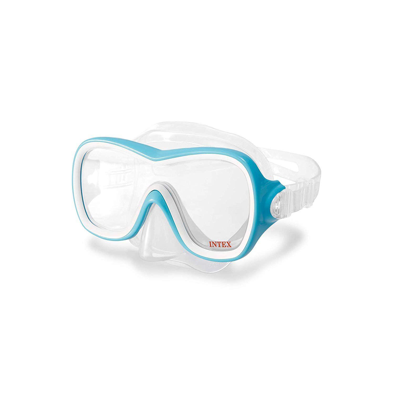 Máscara para mergulho e Natação Aquaflow Sport Wave Rider Mask - Máscara Ondas Intex 55978 Azul