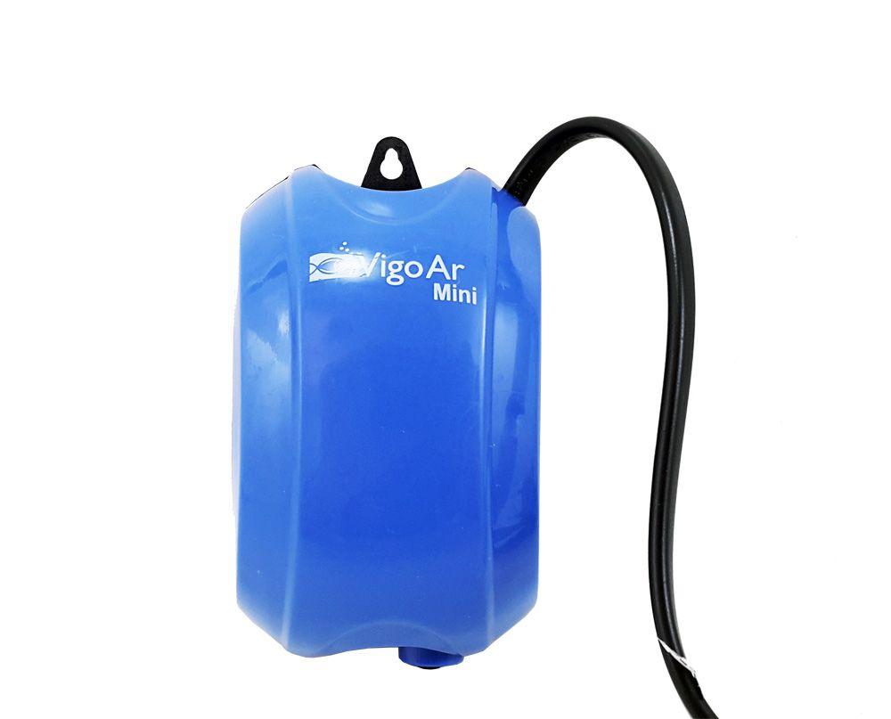 Mini Compressor de Ar Vigo Ar 127V para Aquários até 30 litros